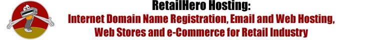 HeroHosting.com - Domain Name Registration and Web hosting for all Retailer's needs